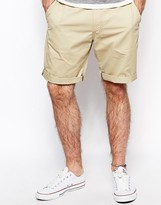 Lee Chino Shorts Straight Fit Twill Wash