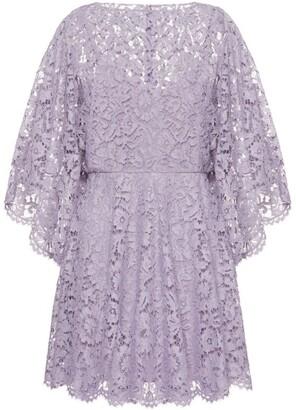 Valentino Lace Mini Dress