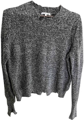 Helmut Lang Anthracite Cotton Knitwear for Women