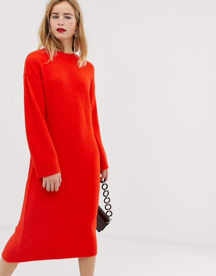 1c86e5a37947d Asos Rib Knit Dresses - ShopStyle UK