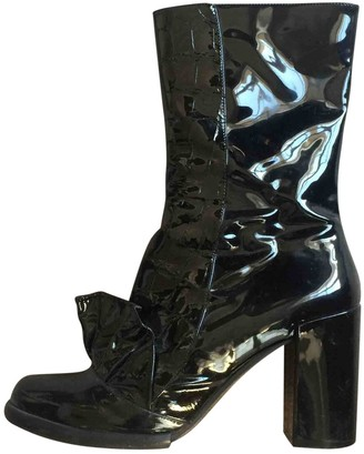 Sonia Rykiel \N Black Patent leather Ankle boots