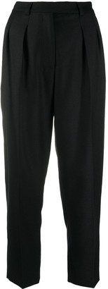 A.P.C. Front-Pleat Cropped Trousers