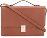 Paul Smith accordion detail satchel - women - Calf Leather - One Size