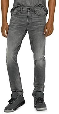 Hudson Skinny Fit Jeans in Grays