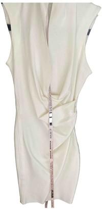 House Of CB White Cotton - elasthane Dress for Women