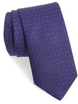 Eton Men's Dot & Diamond Silk Tie