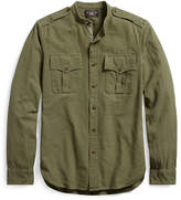 Ralph Lauren Cotton Jacquard Military Shirt