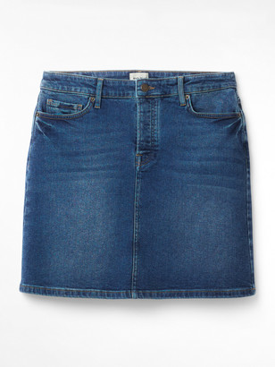 White Stuff Casual Walk Denim Skirt