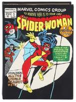 Olympia Le-Tan Spider Woman canvas book clutch
