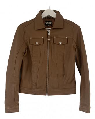 Schott Camel Leather Jackets