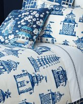 Legacy Queen Ming Pagoda Duvet Cover
