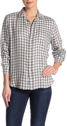 Frank And Eileen Eileen Check Printed Button Front Shirt