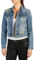 Paige Women's Wylder Embellished Denim Jacket