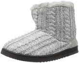 Dearfoams Women's Cable Knit Boot
