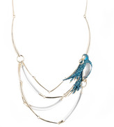 Alexis Bittar Feathered Parrot Bib Necklace