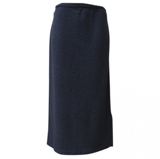Brunello Cucinelli Grey Wool Skirt for Women