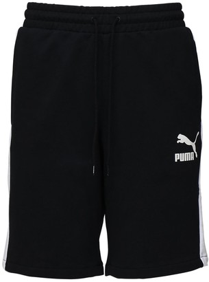Puma Select Cotton Sweat Shorts W/ Side Bands