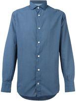 Eleventy fine polka dot shirt