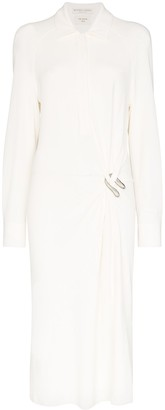 Bottega Veneta Draped Shirt Dress