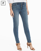 White House Black Market Petite High-Rise Skinny Ankle Jeans