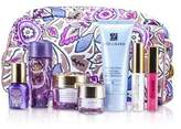 Estee Lauder Travel Set: Cleanser 30ml + Optimizer 30ml + Neck Cream 15ml + Serum 7ml + Eye Cream 5ml + Mascara + Lip Gloss +