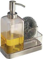 InterDesign Inc Forma 2-Soap and Sponge Caddy