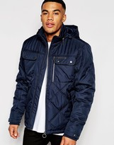 Ringspun Jacket Sermon Jacket With Quilted Panels
