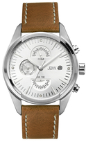 JBW Woodall Stainless Steel & Diamond Chronograph Watch, 44mm