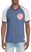 Mitchell & Ness Men's 'St. Louis Cardinals - Race To The Finish' Tailored Fit Raglan Sleeve T-Shirt