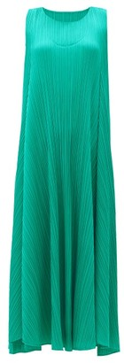 Pleats Please Issey Miyake Technical-pleated Dress - Green