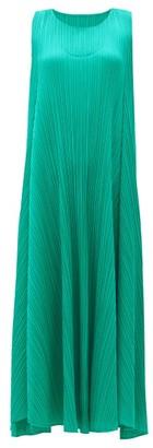 Pleats Please Issey Miyake Technical-pleated Dress - Green
