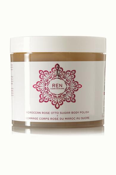 Ren Skincare Moroccan Rose Otto Sugar Body Polish, 330ml - Colorless
