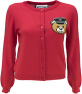 Moschino Biker Teddy Bear Cardigan