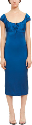 Opening Ceremony Stretchy Baby Ruched Bodycon Dress