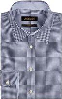 Jaeger Men's Textured Gingham Regular Shirt