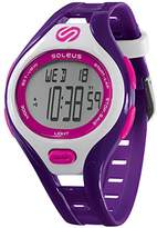 Soleus Women's SR019-515 DASH Stainless Steel Running Watch with Purple Band