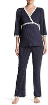 Belabumbum Dottie Maternity Tunic & Lounge Pant 2-Piece Set (Maternity)