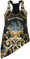 Marques Almeida Marques'almeida vase brocade tank top