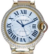 Cartier Ballon Bleu WE9004Z3 18K Yellow Gold and Diamond 36mm Watch