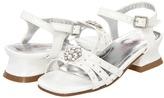 Laura Ashley LA20108 (Infant/Toddler/Youth) (White) - Footwear