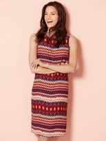 M&Co Ikat stripe print shift dress