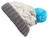 BP Women's Cable Knit Beanie - Ivory