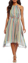 Antonio Melani Lida Stripe Chiffon Dress