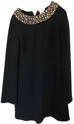 Vera Wang Black Wool Dress for Women