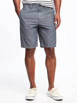 "Old Navy Slim Ultimate Chambray Shorts for Men (10"")"