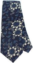 General Knot & Co Vintage Lenox Floral Cotton Necktie