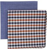 Geoffrey Beene 2pk Pocket Squares (/Plain)