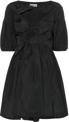 Molly Goddard Natasha bow-detail mini dress
