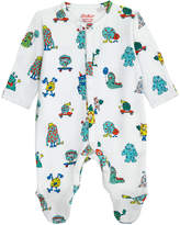 Cath Kidston Mini Monsters Baby Sleepsuit