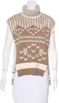 Prabal Gurung Patterned Sleeveless Sweater